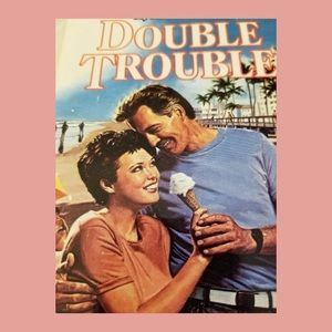 💕Harlequin Romance DOUBLE TROUBLE Paperback Novel